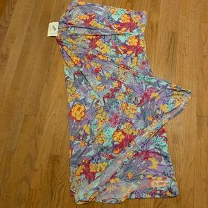 Lularoe Maxi Skirt 3x NWT